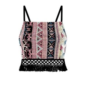 NEW Tapestry Festival Crop Top